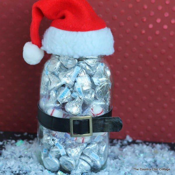 35 Χριστουγεννιάτικες κατασκευές απο άδεια γυάλινα βάζα! 35