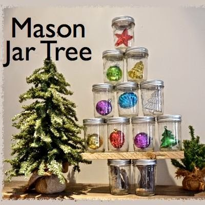 35 Χριστουγεννιάτικες κατασκευές απο άδεια γυάλινα βάζα! 28