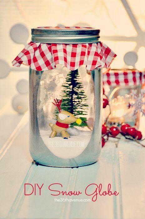 35 Χριστουγεννιάτικες κατασκευές απο άδεια γυάλινα βάζα! 34