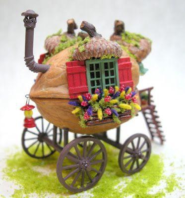30 μοναδικές και ιδιαίτερες κατασκευές με καρύδια! 8