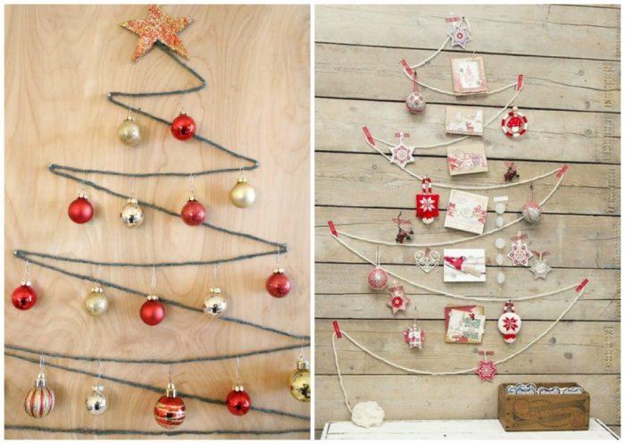 υπέροχα Χριστουγεννιάτικα δέντρα που μπορείτε να φτιάξετε μόνοι σας σε ελάχιστο χρόνο 7