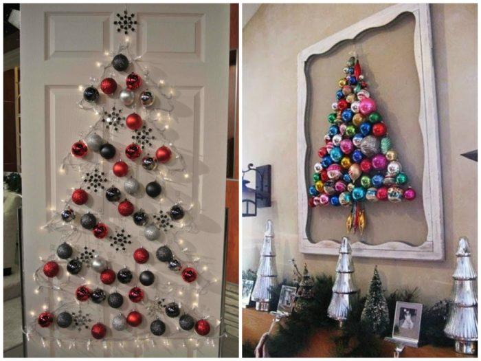 υπέροχα Χριστουγεννιάτικα δέντρα που μπορείτε να φτιάξετε μόνοι σας σε ελάχιστο χρόνο 12