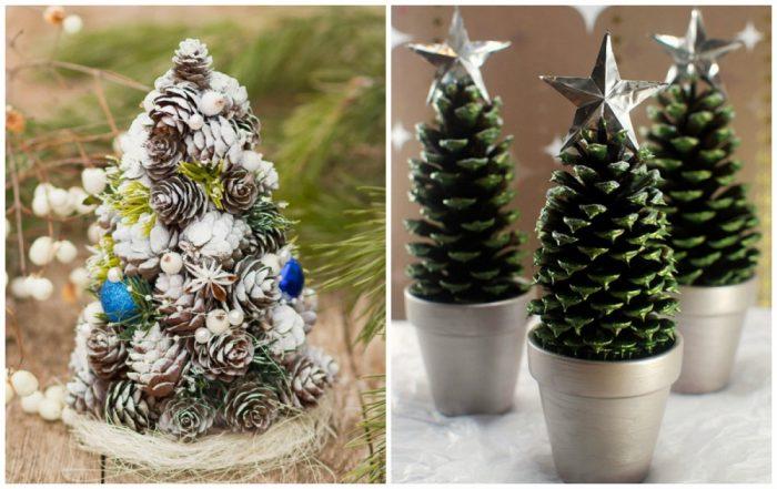 υπέροχα Χριστουγεννιάτικα δέντρα που μπορείτε να φτιάξετε μόνοι σας σε ελάχιστο χρόνο 8