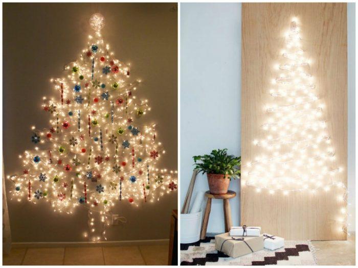 υπέροχα Χριστουγεννιάτικα δέντρα που μπορείτε να φτιάξετε μόνοι σας σε ελάχιστο χρόνο 5