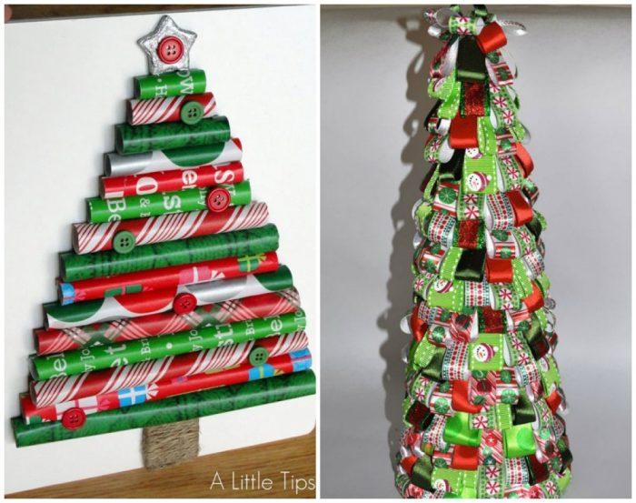 υπέροχα Χριστουγεννιάτικα δέντρα που μπορείτε να φτιάξετε μόνοι σας σε ελάχιστο χρόνο 15
