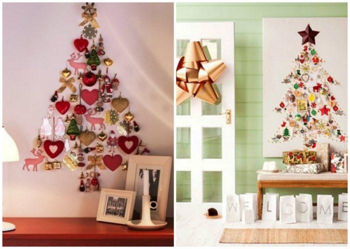 υπέροχα Χριστουγεννιάτικα δέντρα που μπορείτε να φτιάξετε μόνοι σας σε ελάχιστο χρόνο 13