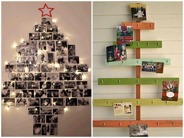 υπέροχα Χριστουγεννιάτικα δέντρα που μπορείτε να φτιάξετε μόνοι σας σε ελάχιστο χρόνο 2