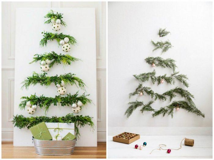 υπέροχα Χριστουγεννιάτικα δέντρα που μπορείτε να φτιάξετε μόνοι σας σε ελάχιστο χρόνο 3