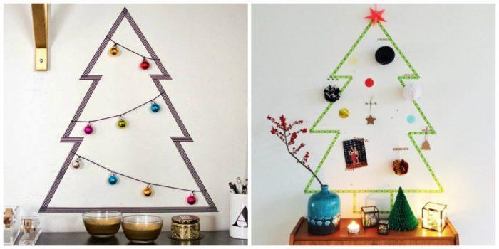 υπέροχα Χριστουγεννιάτικα δέντρα που μπορείτε να φτιάξετε μόνοι σας σε ελάχιστο χρόνο 9