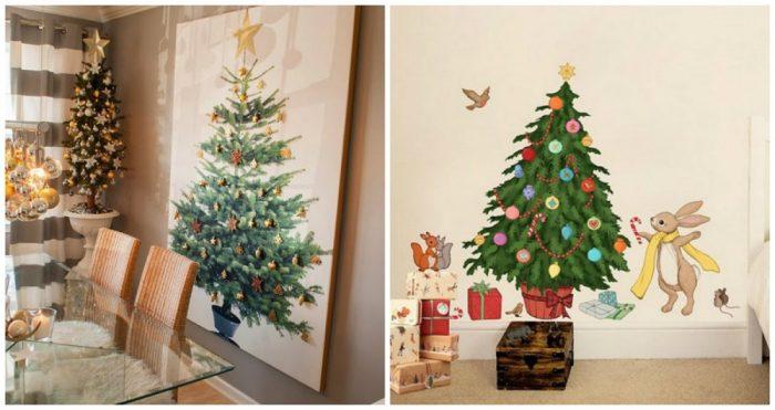 υπέροχα Χριστουγεννιάτικα δέντρα που μπορείτε να φτιάξετε μόνοι σας σε ελάχιστο χρόνο 11