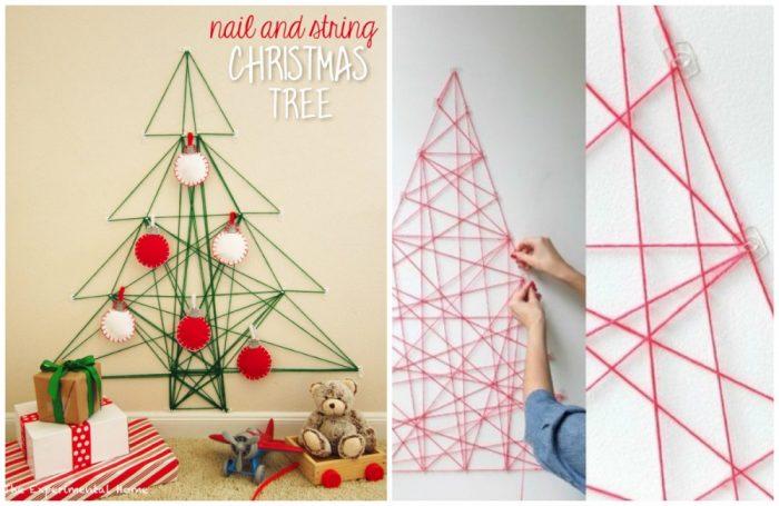 υπέροχα Χριστουγεννιάτικα δέντρα που μπορείτε να φτιάξετε μόνοι σας σε ελάχιστο χρόνο 6