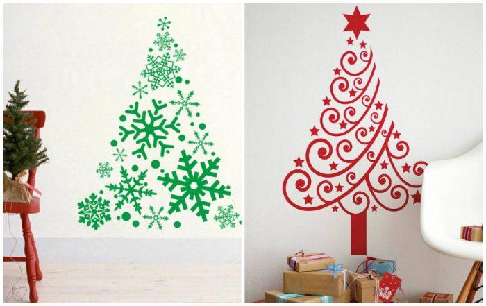 υπέροχα Χριστουγεννιάτικα δέντρα που μπορείτε να φτιάξετε μόνοι σας σε ελάχιστο χρόνο 4