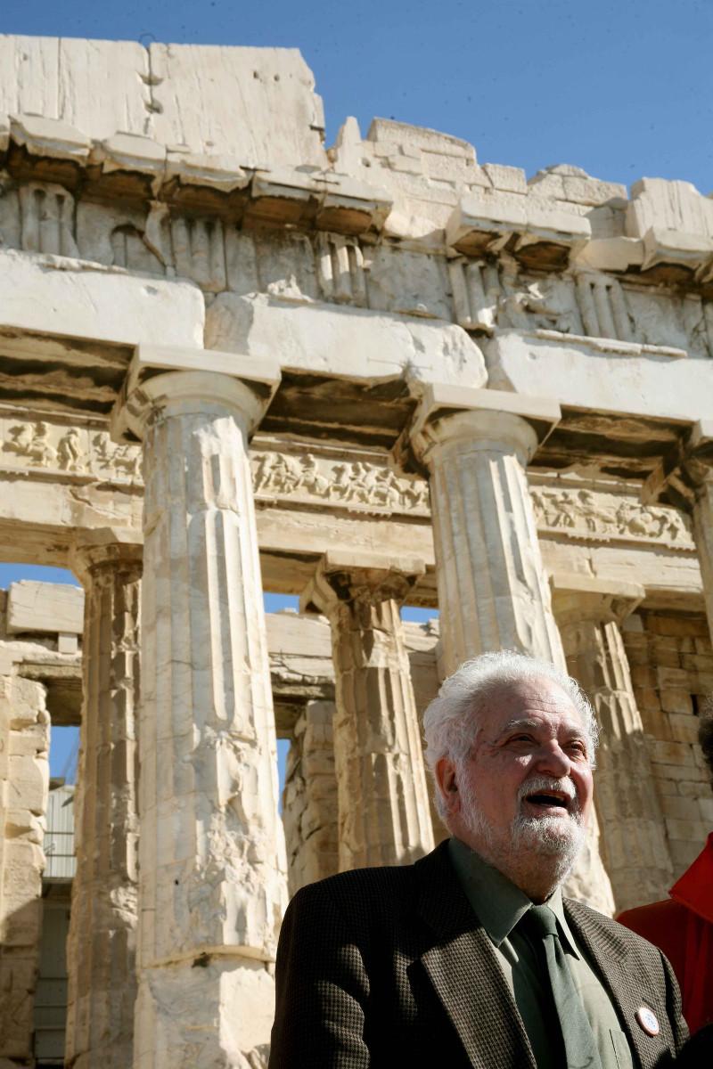 Μέλημά του η επιστροφή των Γλυπτών του Παρθενώνα